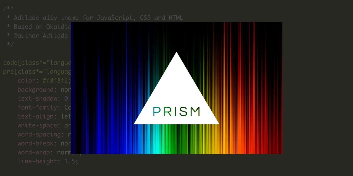 Un thème accessible pour PrismJS