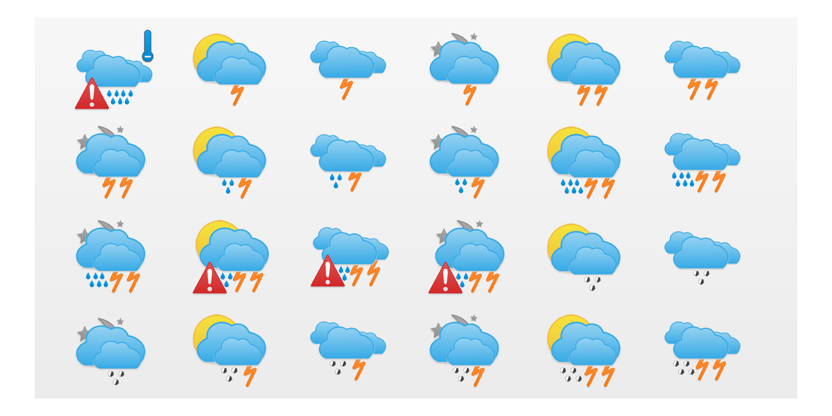 Adilade Weather Icons Set