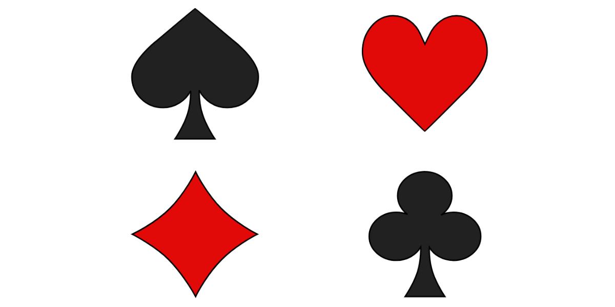 Couleurs des cartes à jouer
