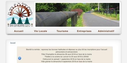 Commune de Ban-sur-Meurthe-Clefcy (Vosges)