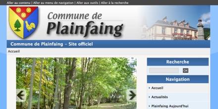 Commune de Plainfaing (Vosges)